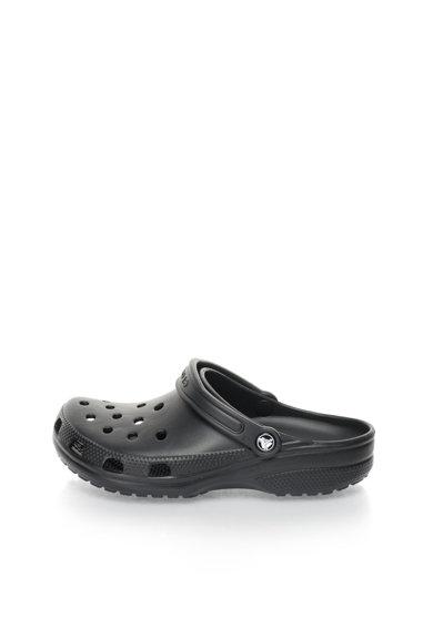 Saboti slingback negri de la Crocs