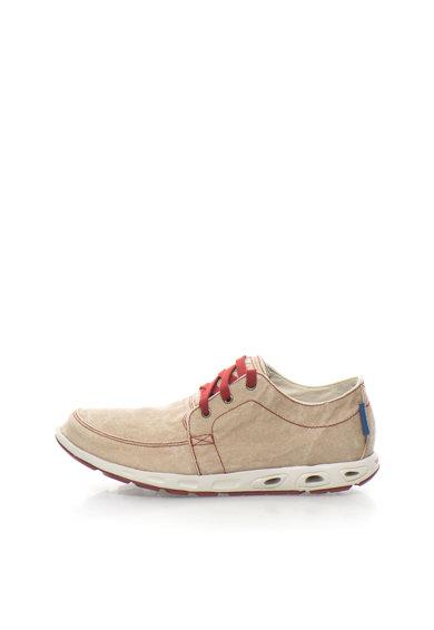 Pantofi casual maro nisip cu garnituri rosu granat Sunvent™ II de la Columbia
