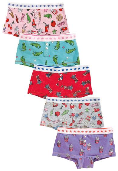 Set de boxeri multicolori cu imprimeu – 5 perechi de la NEXT