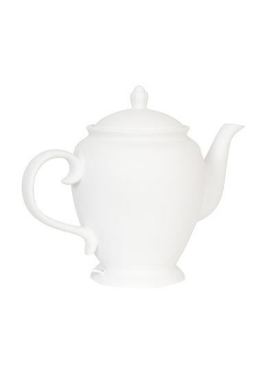 Veioza alba de masa in forma de ceainic de la Clayre  Eef