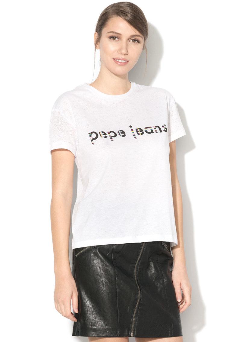 Tricou cu imprimeu logo Catalina de la Pepe Jeans London