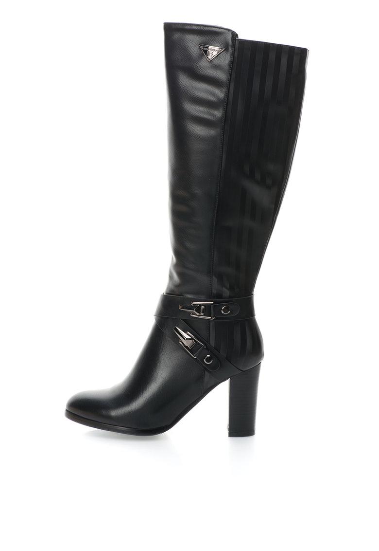 Laura Biagiotti Cizme negre cu toc inalt