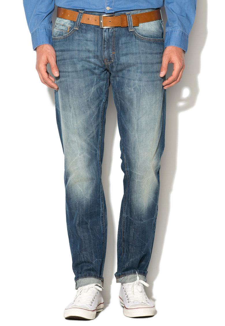 Mustang Jeansi slim albastri Oregon