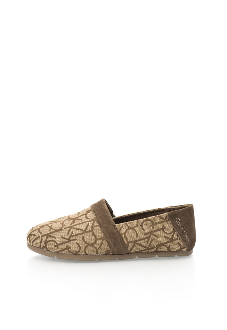 Calvin Klein Jeans Pantofi slip-on maro nisip Neil
