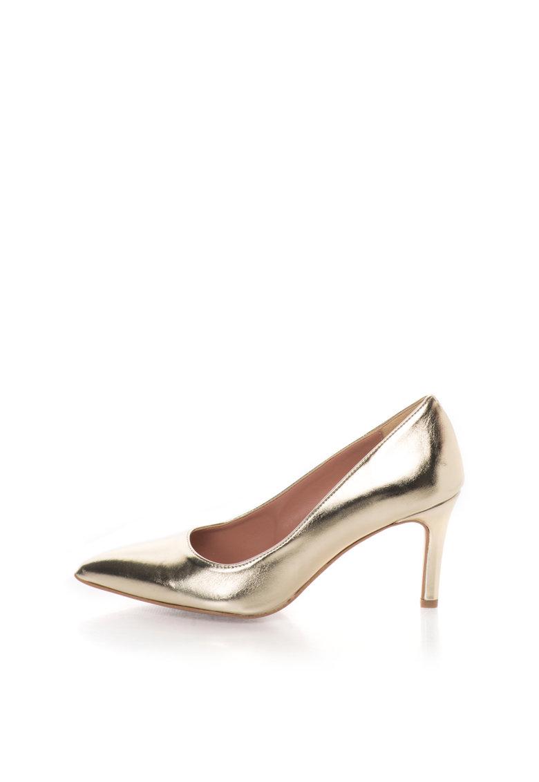 Zee Lane Pantofi aurii cu varf ascutit Raffy