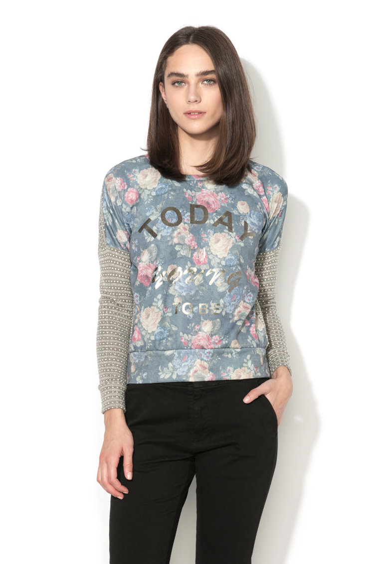 Alcott Bluza multicolora cu model floral
