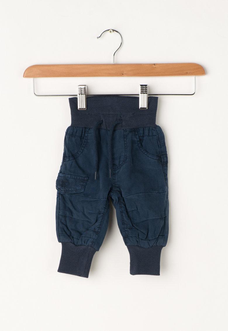 Pantaloni bleumarin din lyocell Bas de la NAME IT