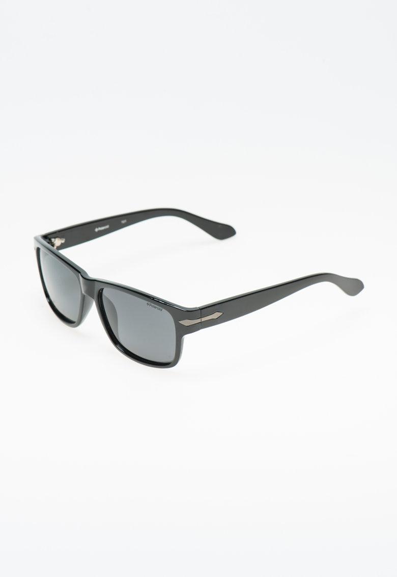 Polaroid Ochelari de soare negri cu lentile polarizate