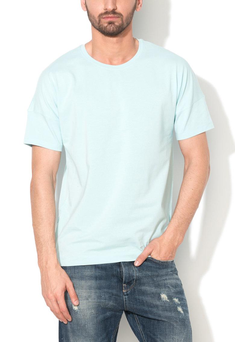 Tricou albastru pal
