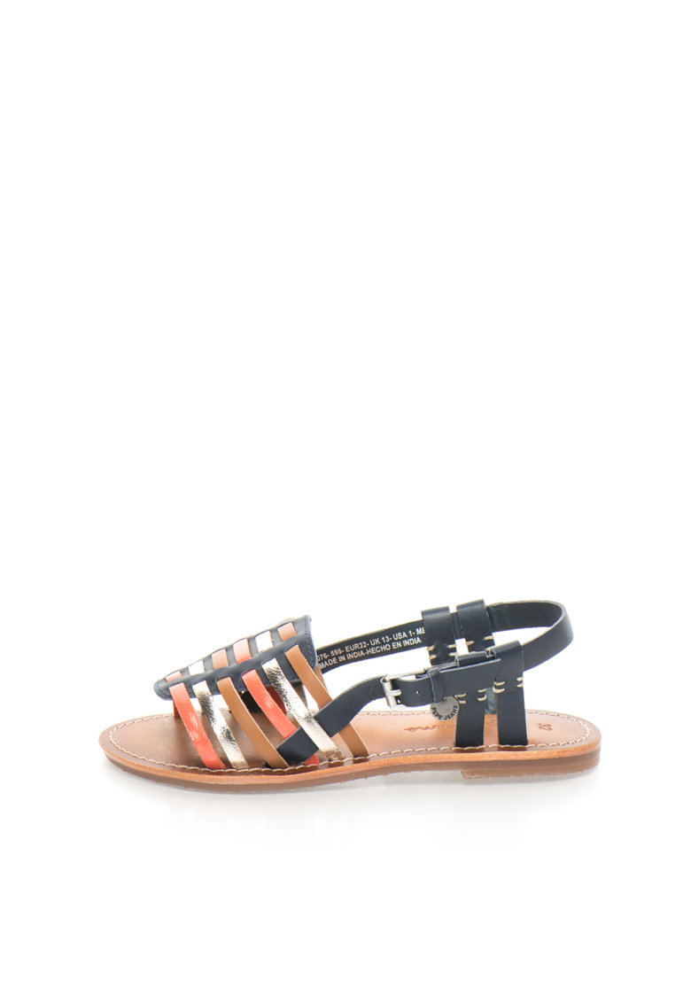 Pepe Jeans London Sandale multicolore cu barete multiple Maya