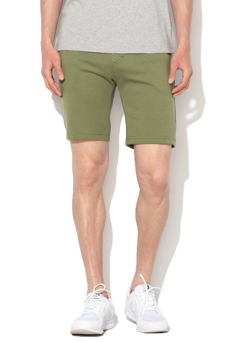 Le Coq Sportif Pantaloni scurti sport verde oliv