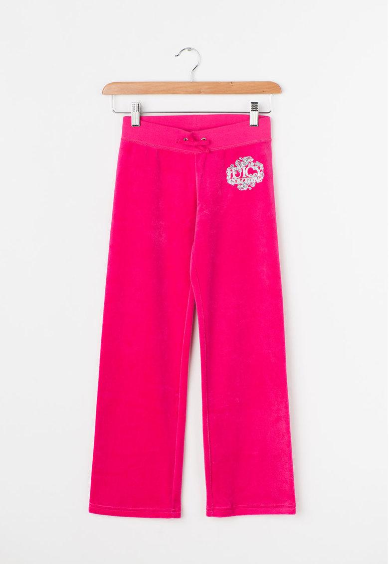 Juicy Couture Pantaloni fucsia catifelati