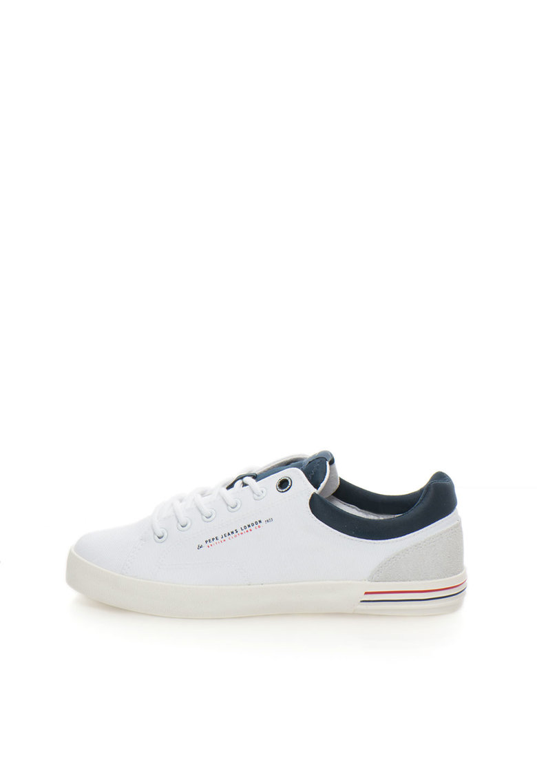 Pantofi sport alb cu bleumarin North