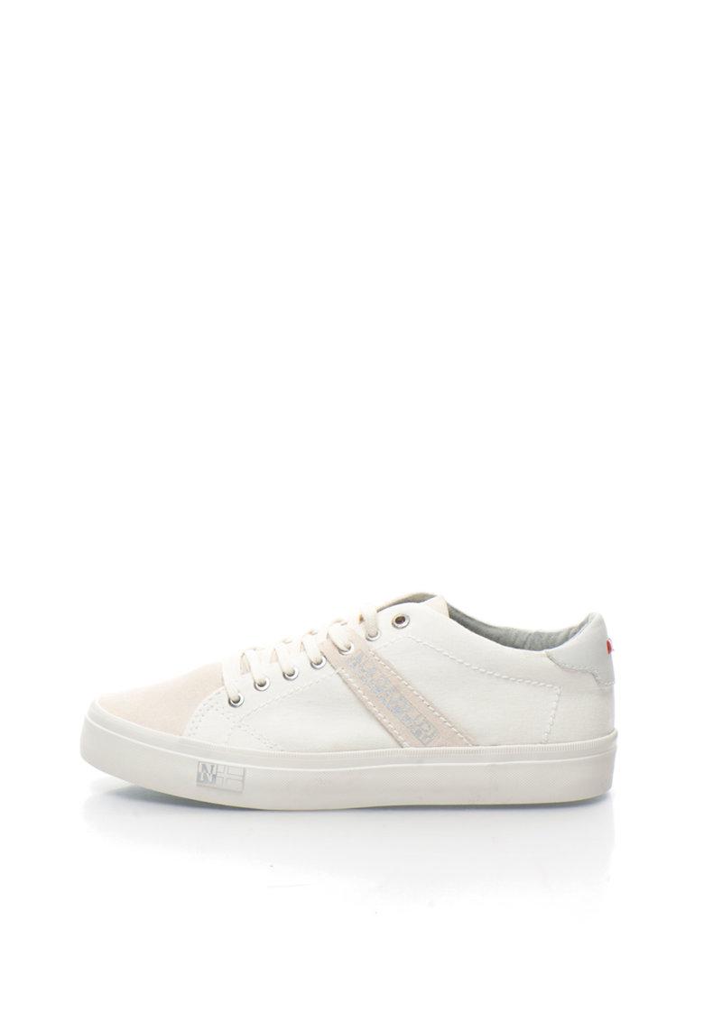 Pantofi sport alb prafuit Naomi