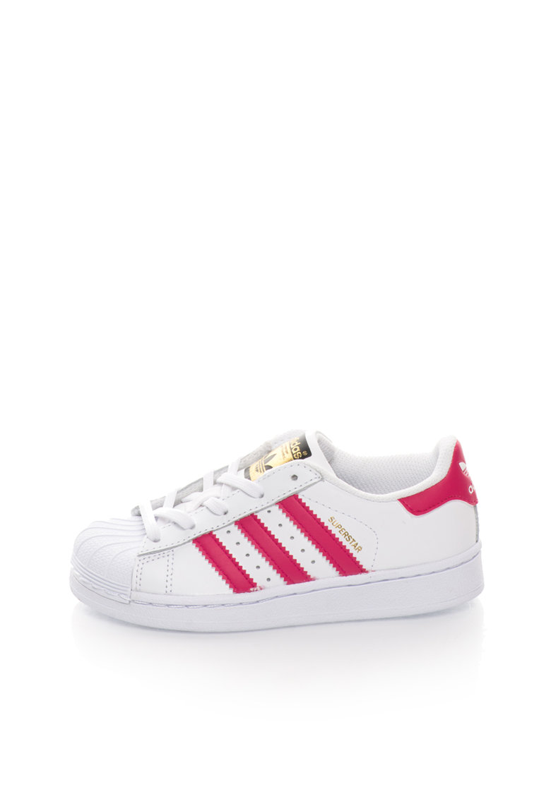 adidas Originals Tenisi albi de piele Superstar Foundation