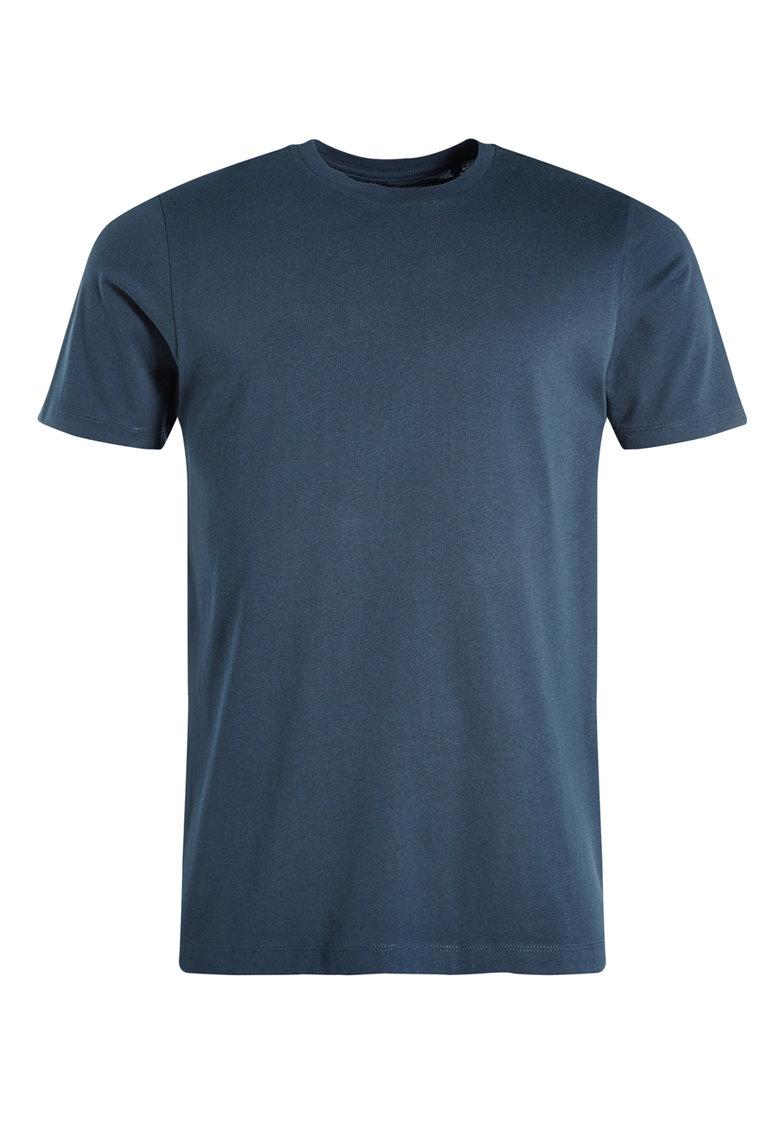 Tricou regular fit bleumarin cu decolteu la baza gatului de la NEXT