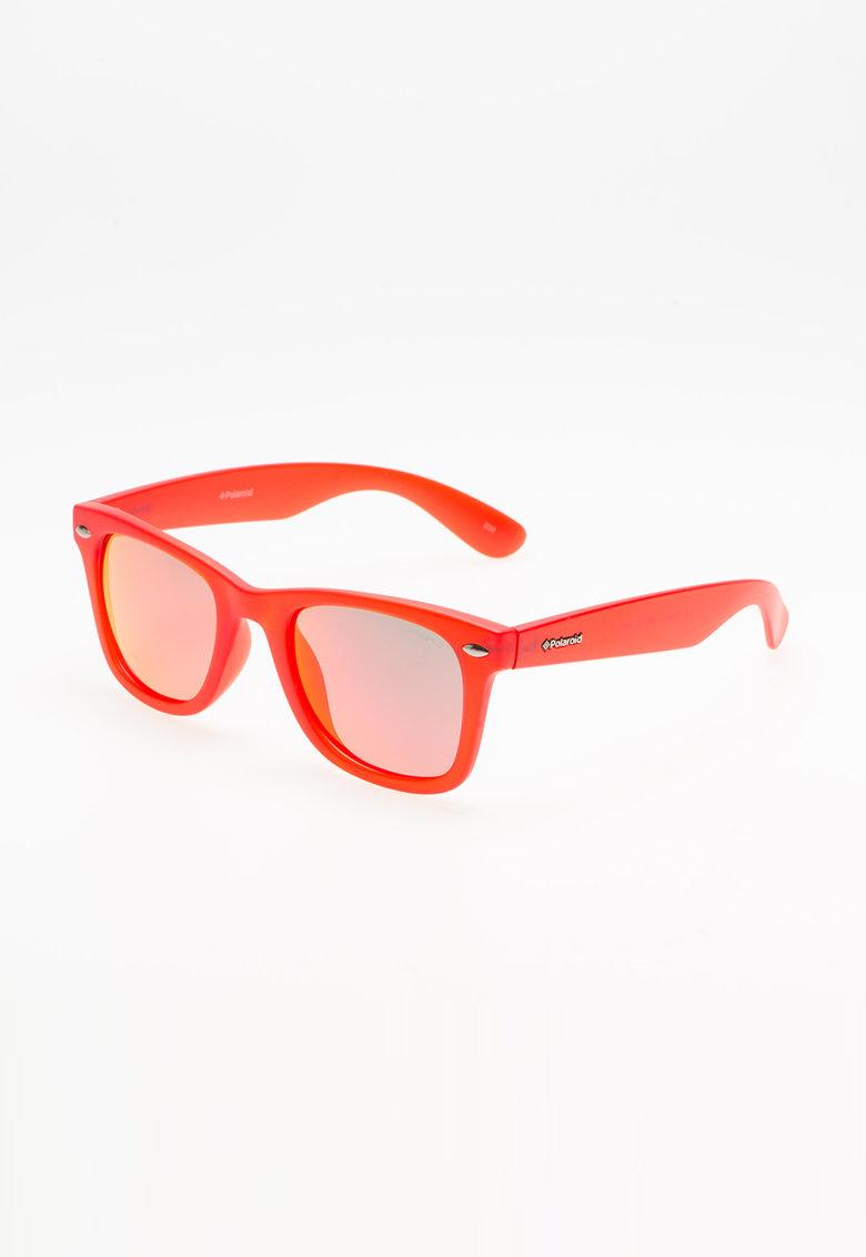 Polaroid Ochelari de soare rosu mat cu lentile Ultrasight™