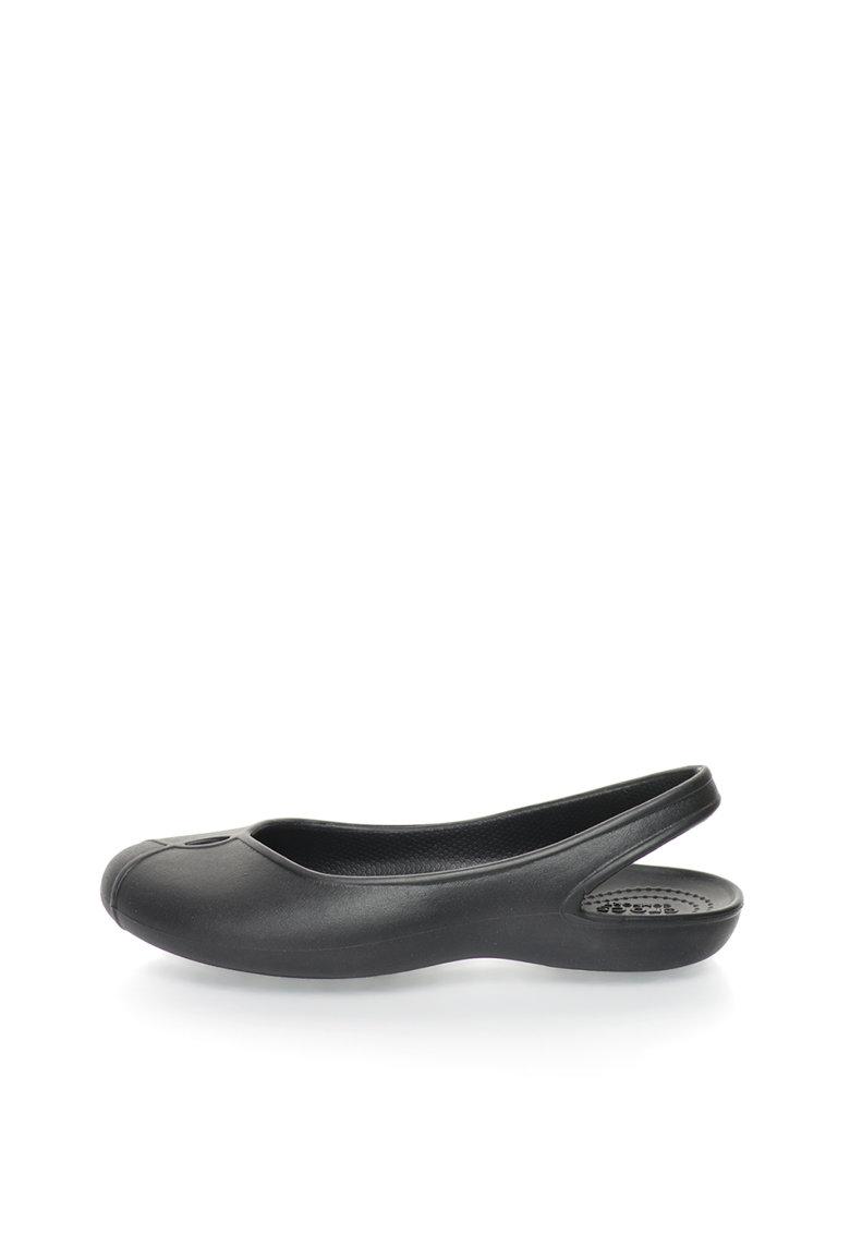 Crocs Balerini slingback negri Olivia II
