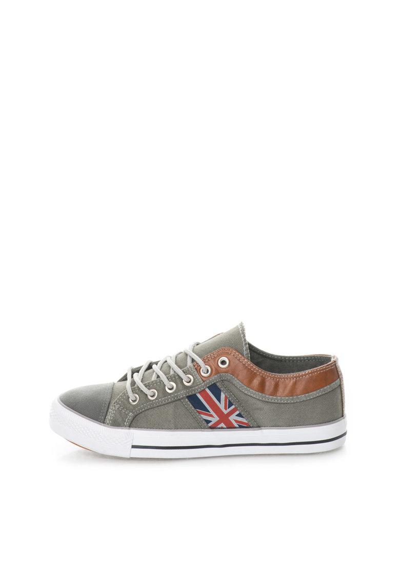 Zee Lane Pantofi sport gri din panza