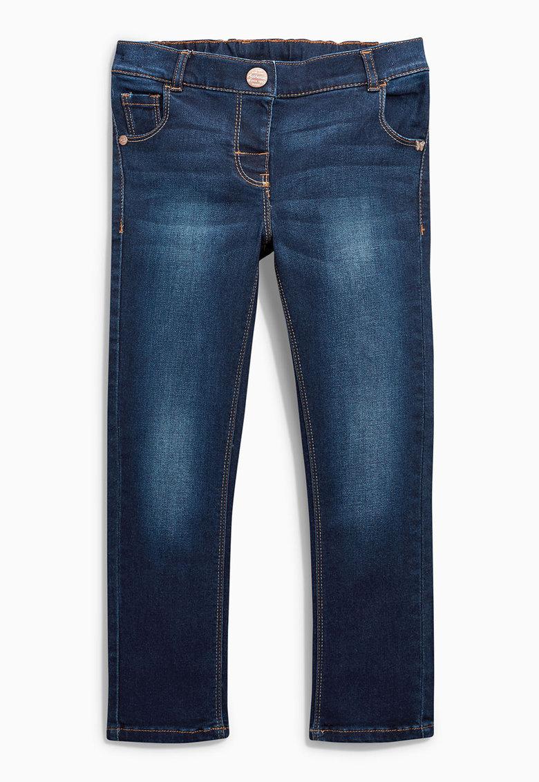 Jeansi skinny albastru inchis