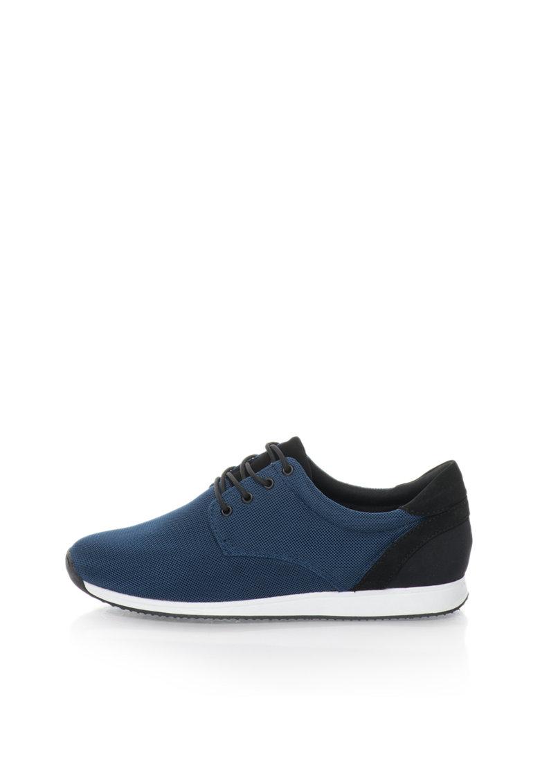 Vagabond Shoemakers Tenisi bleumarin cu negru texturati Kasai