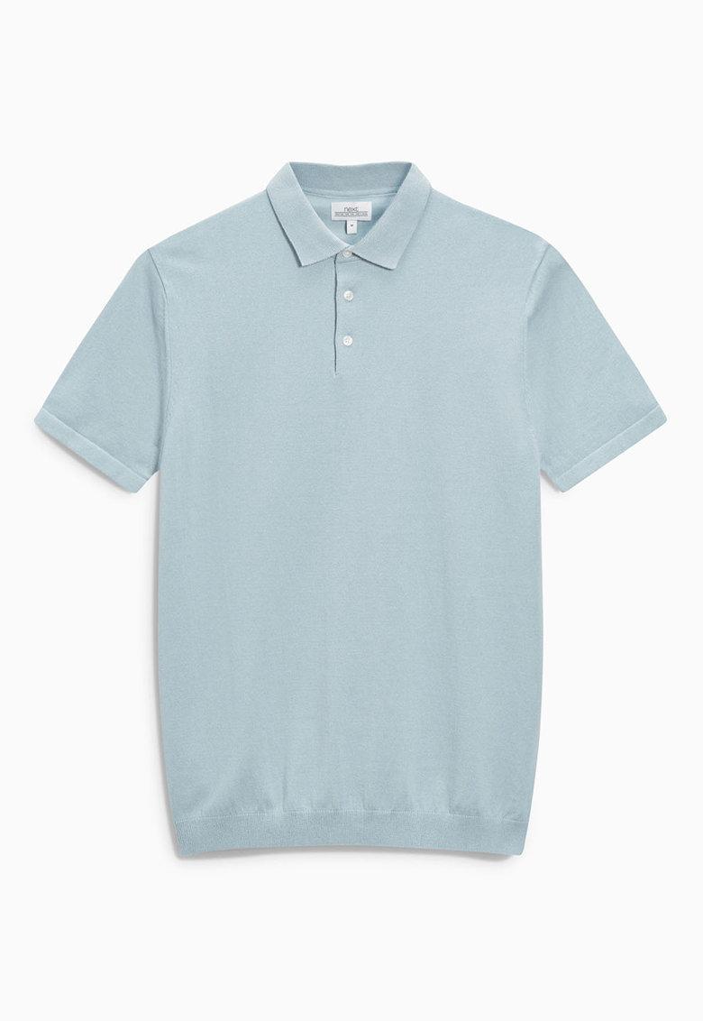 NEXT Tricou polo bleu