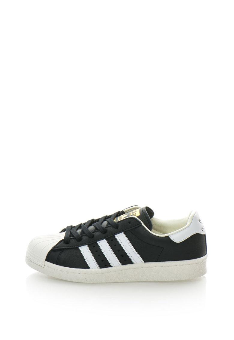 Pantofi sport de piele Superstar de la Adidas ORIGINALS