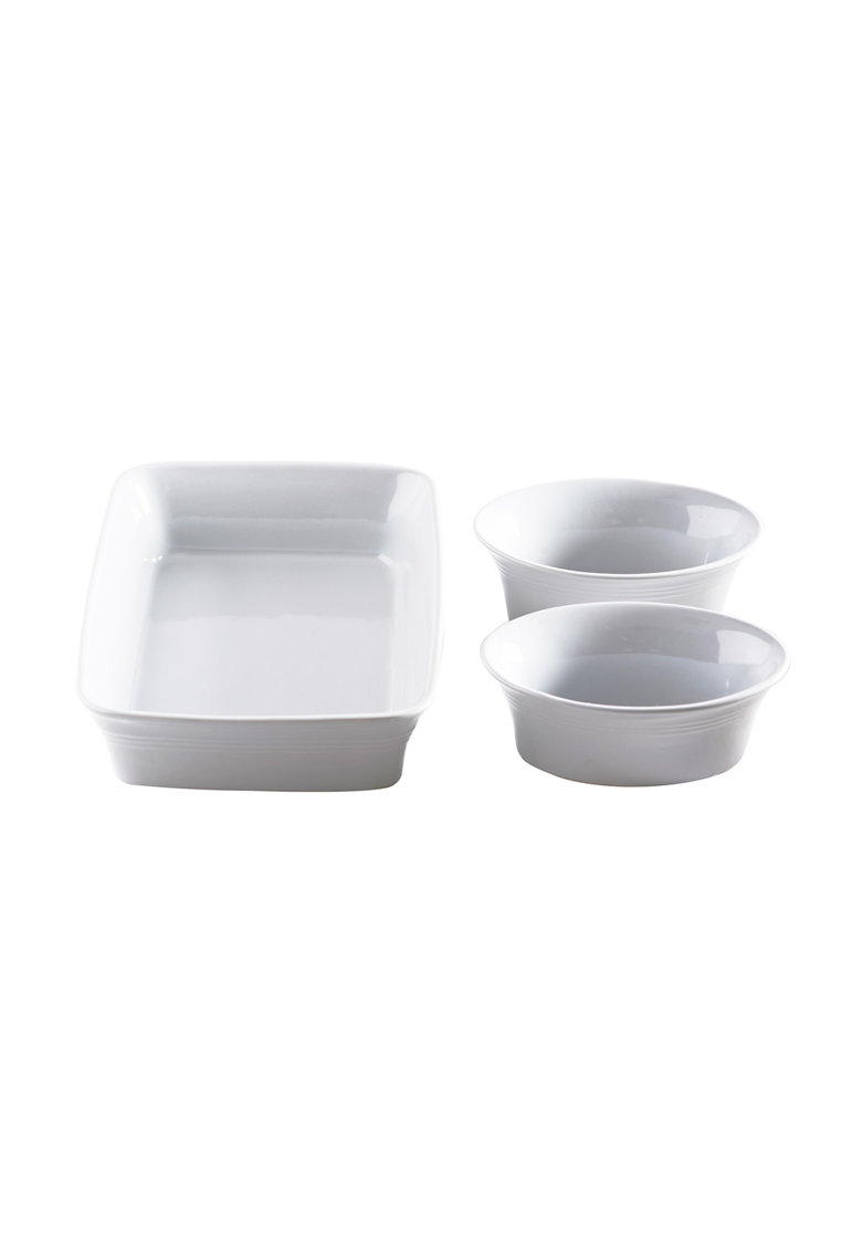 Mason Cash Set de vase albe Classic Kitchen – 3 piese