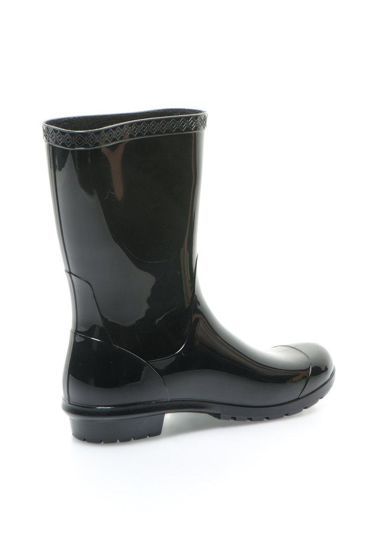 UGG Australia Cizme scurte de ploaie negre Sienna