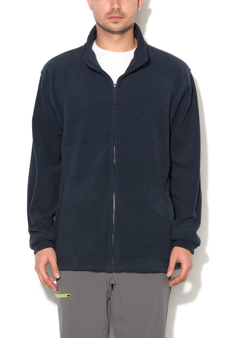 Bluza sport din fleece cu fermoar Strength