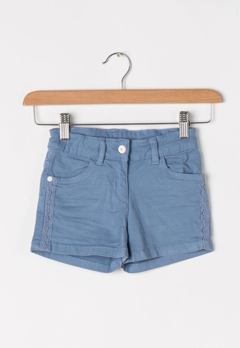 Tom Tailor Kids Pantaloni scurti elastici albastru lavanda din denim