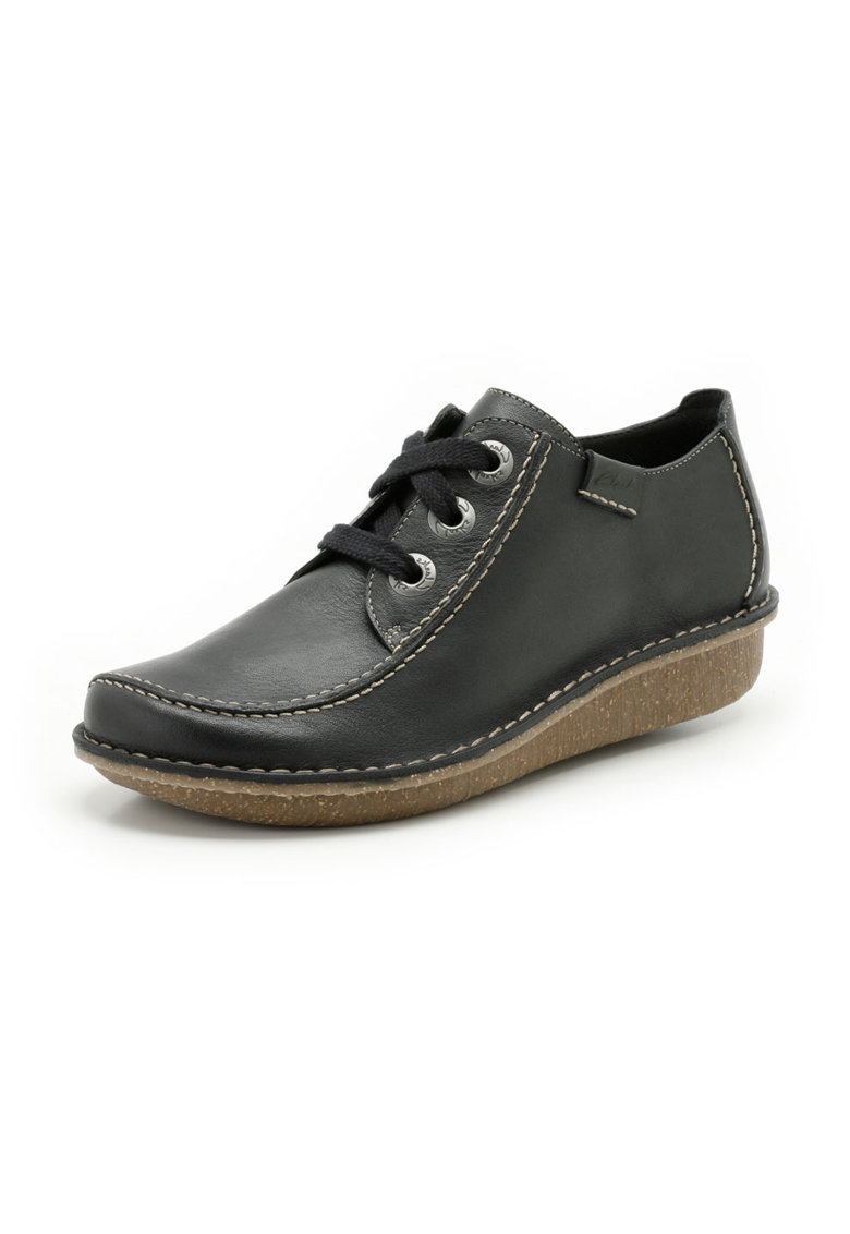 Clarks Pantofi bleumarin din piele Funny Dream