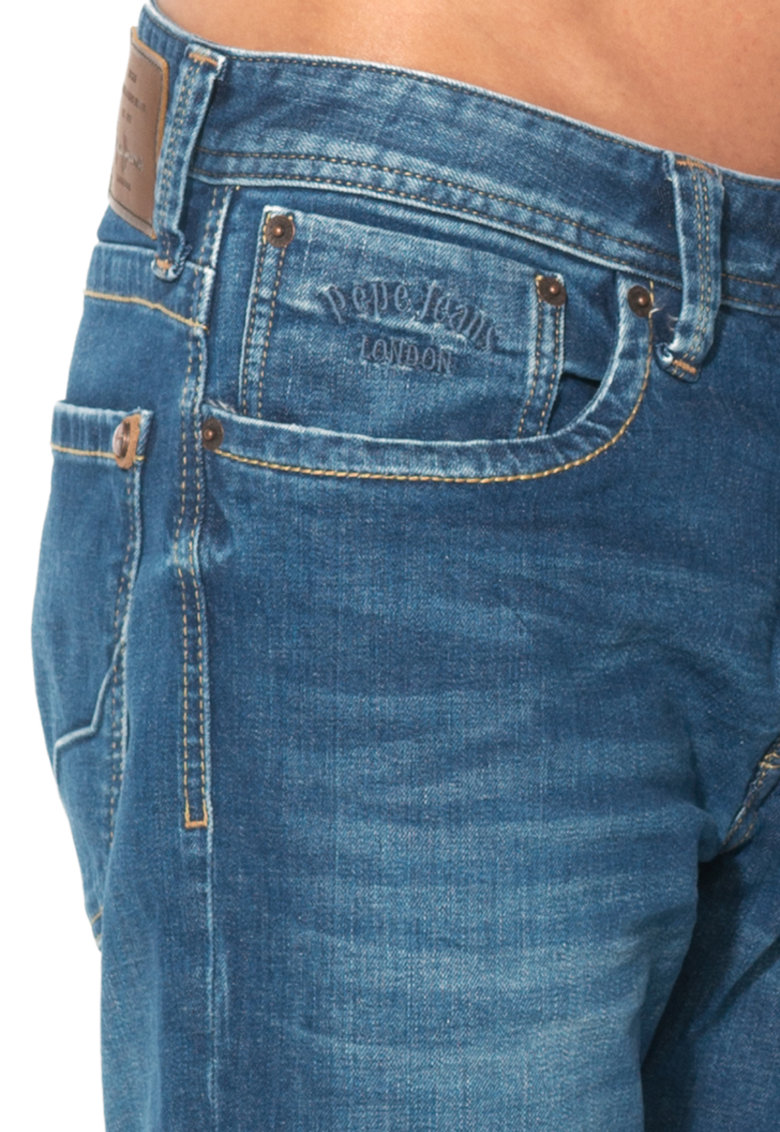 Pepe Jeans London Jeansi albastri regular fit Cash