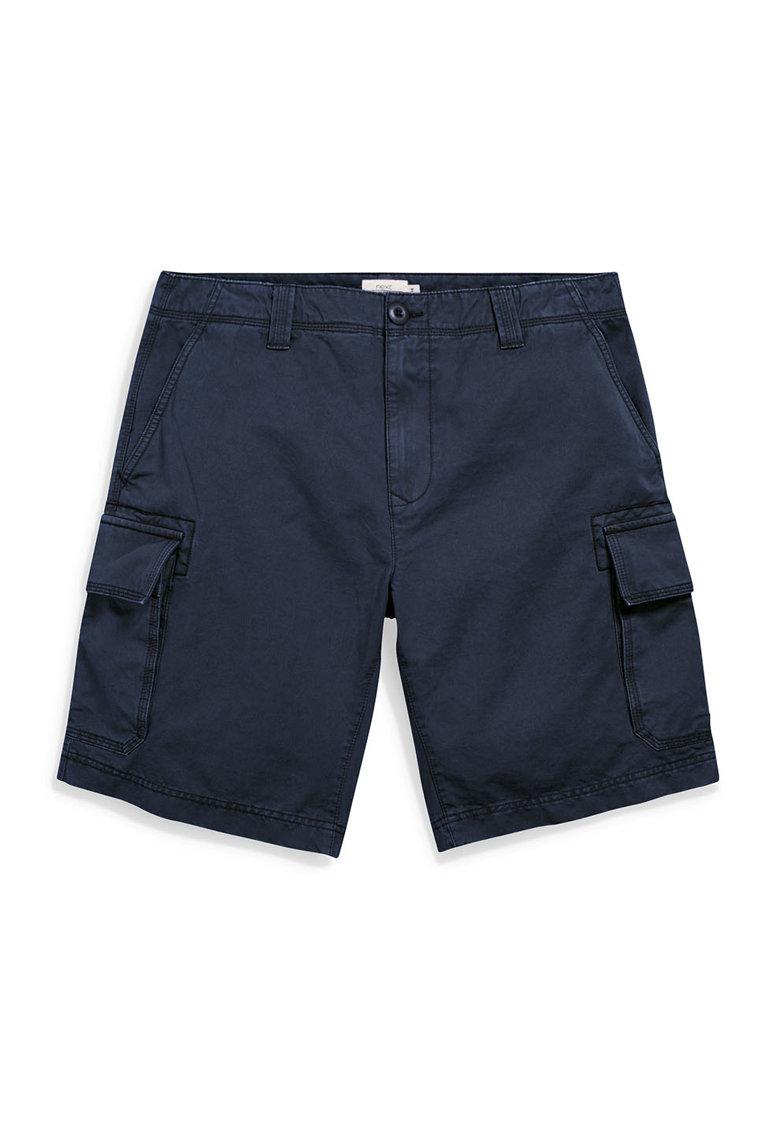 Pantaloni scurti cargo bleumarin