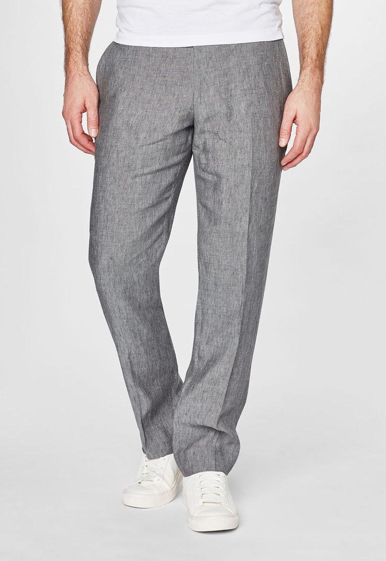 NEXT Pantaloni eleganti gri melange de in
