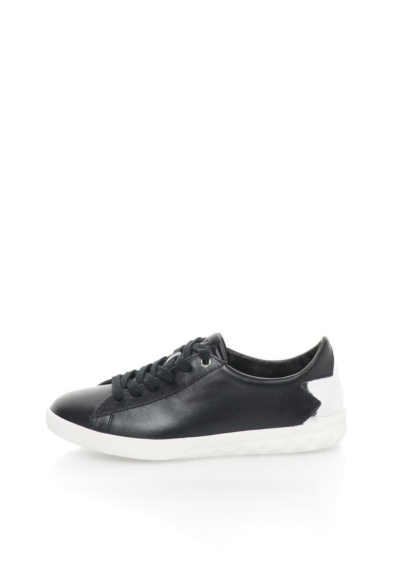 Pantofi sport negri de piele Olstice