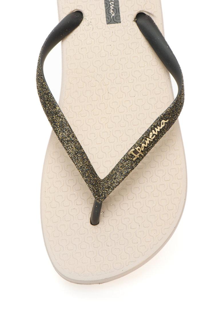 Ipanema Papuci flip-flop cu aspect stralucitor Lolita