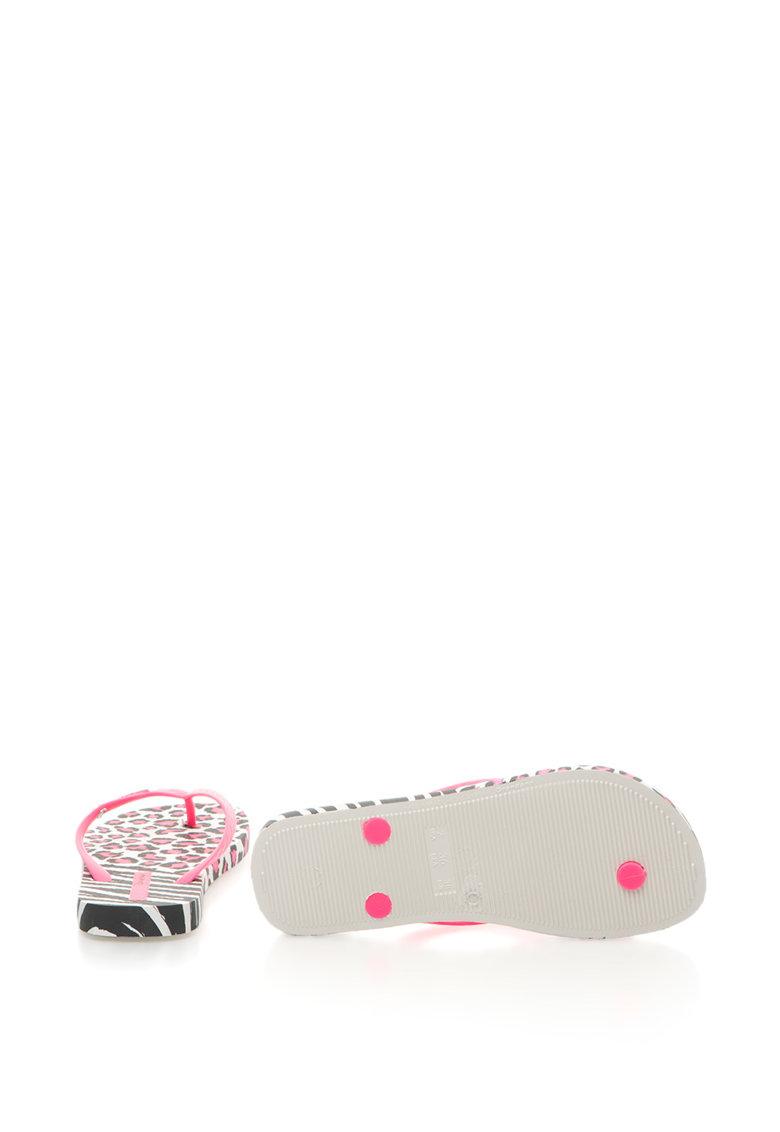 Ipanema Papuci flip-flop cu animal print