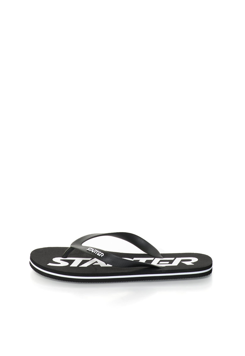 Starter Papuci flip-flop negri cu logo Phoenix