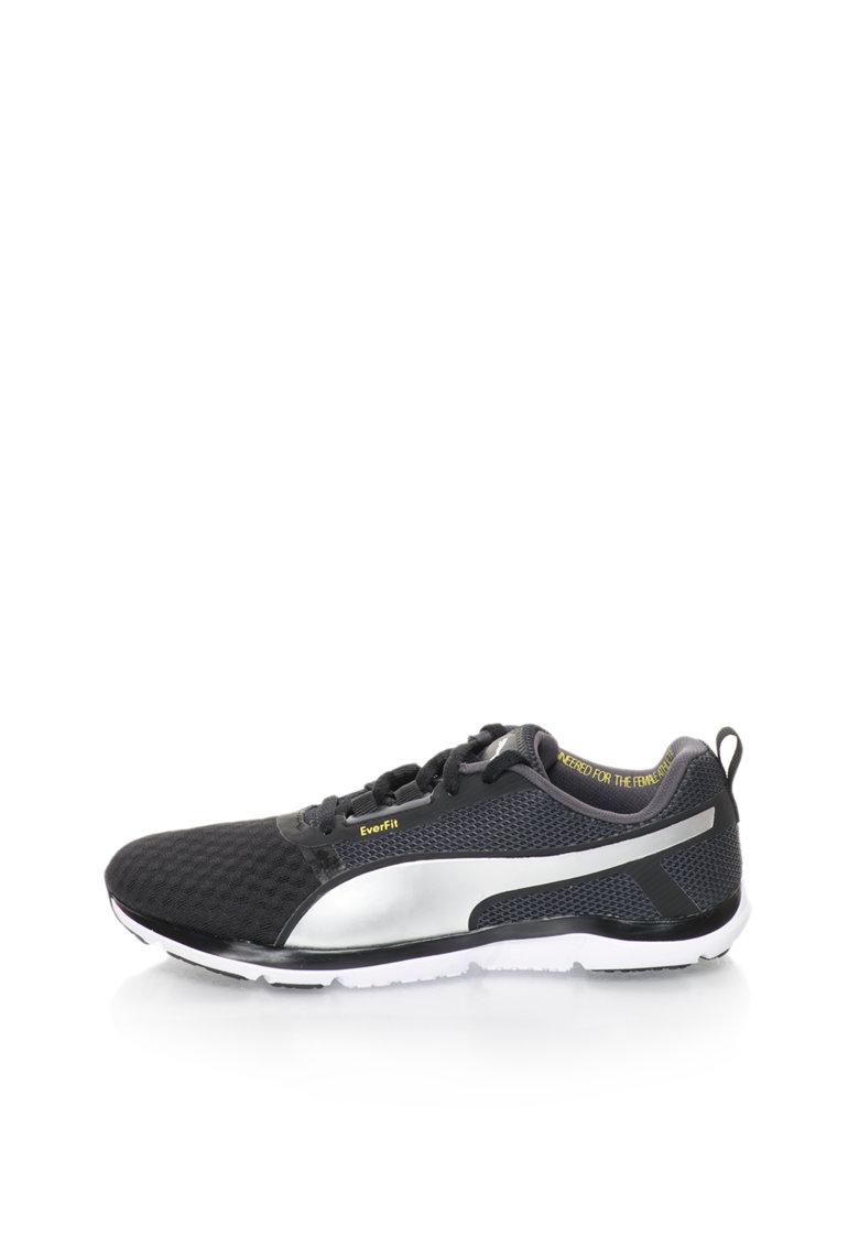 Puma Pantofi sport pentru antrenament negru cu argintiu Pulse Flex XT