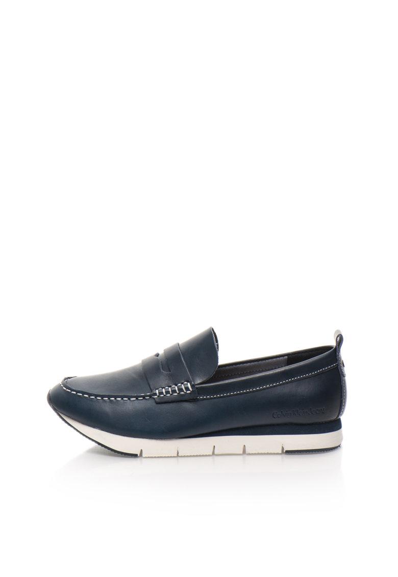 Pantofi loafer bleumarin Haben