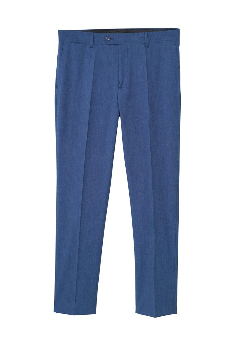Pantaloni eleganti slim fit Brasilia de la Mango