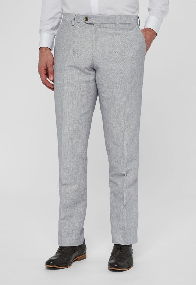 NEXT Pantaloni eleganti bleu in dungi