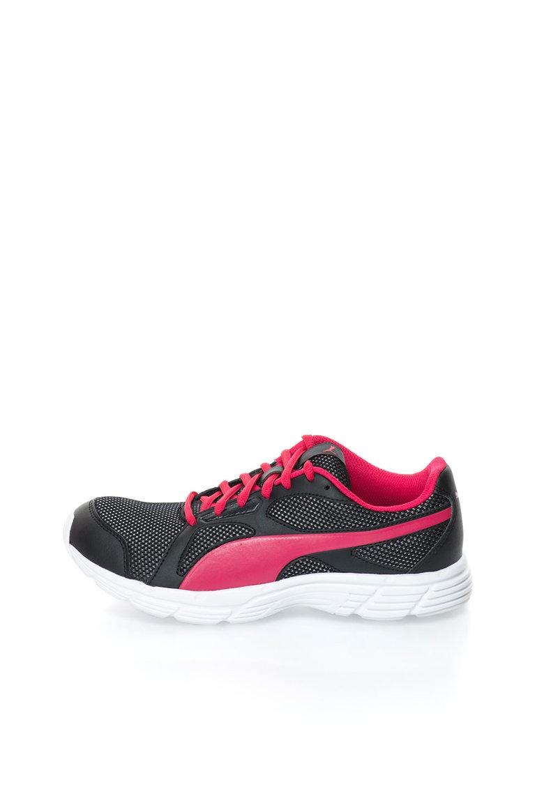 Puma Pantofi sport negru cu fucsia AXIS V4