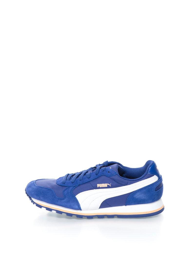 Puma Pantofi sport albastru persan cu alb ST Runner