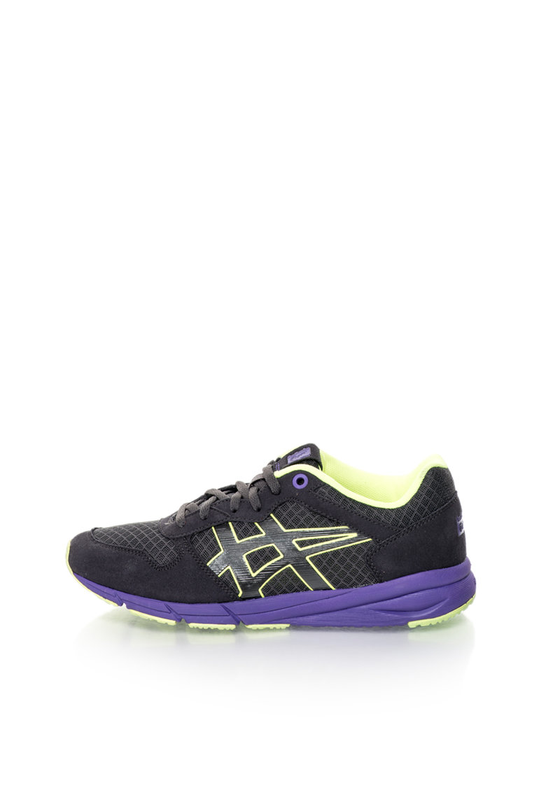Pantofi sport cu accente neon Shaw Runner de la Onitsuka Tiger