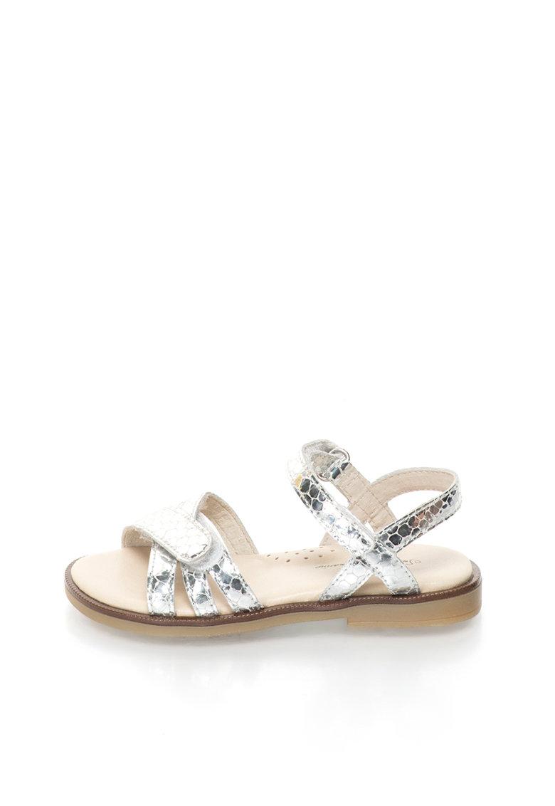 Lea Lelo Sandale de piele cu velcro