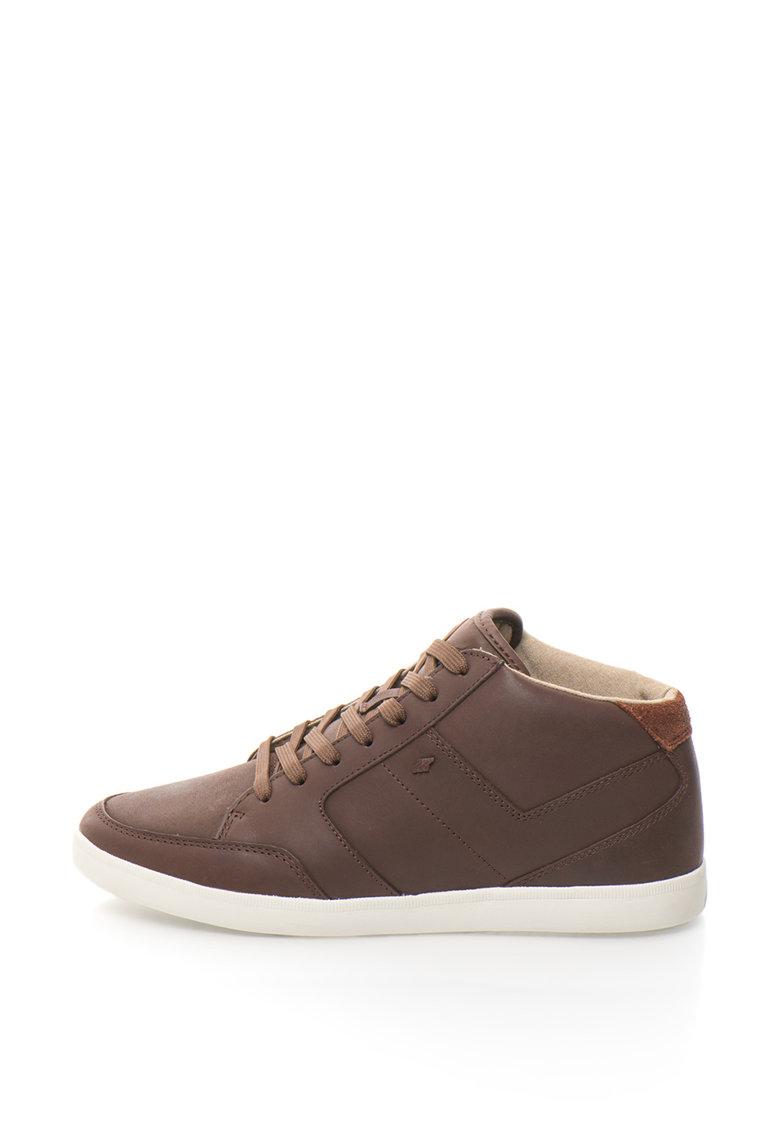 Boxfresh Pantofi sport mid-high de piele Cheam