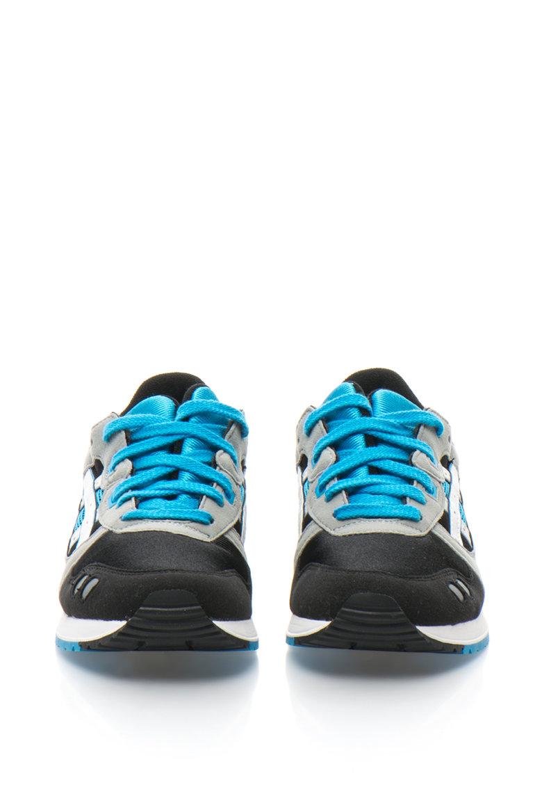 Asics Pantofi sport cu garnituri de piele intoarsa sintetica GEL-LYTE III GS