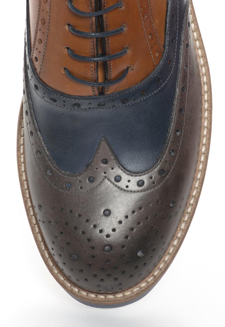 Zee Lane Pantofi Brogue de piele
